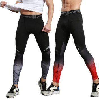 Gym Compression Leggings for Men Mens Clothing Leggings| The Athleisure