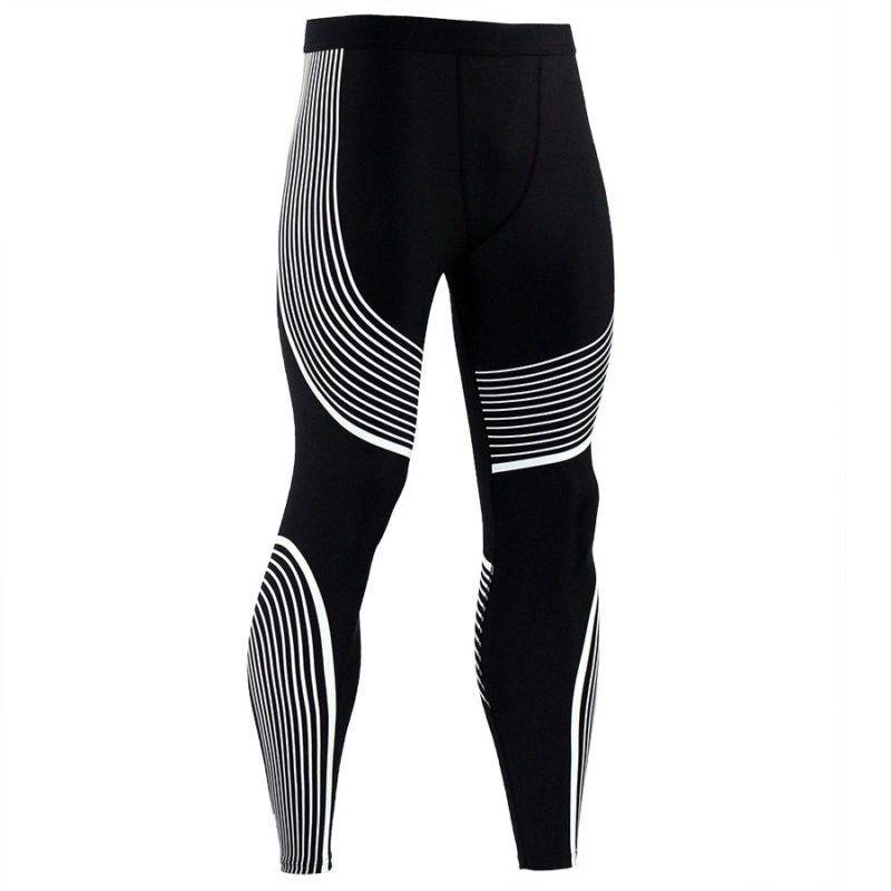 Running Compression Fitness Leggings for Men Mens Clothing Leggings