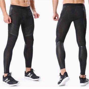 Running Compression Fitness Leggings for Men Mens Clothing Leggings| The Athleisure