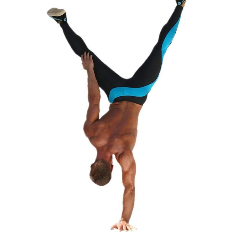 Running Compression Fitness and Training Leggings for Men Mens Clothing Leggings