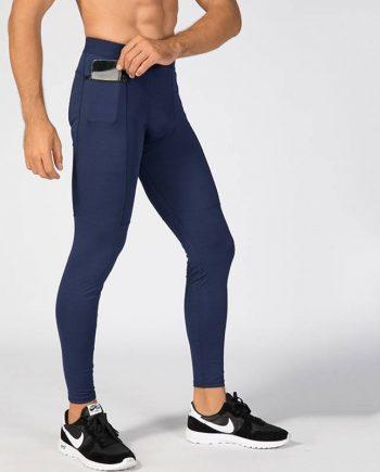 Elastic Training Pants with Pocket for Men Mens Clothing Leggings