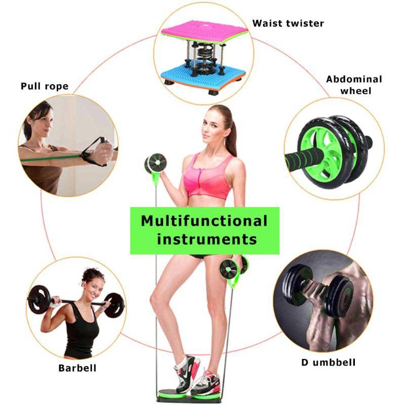Double Wheel Abdominal Power Wheel & Ab Roller Womens Accessories Mens Accessories