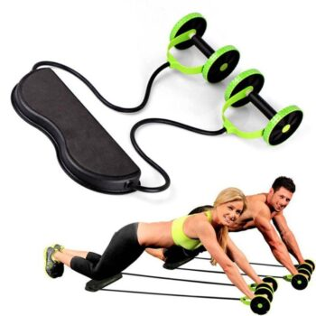 Double Wheel Abdominal Power Wheel Ab Roller Womens Accessories Mens Accessories| The Athleisure