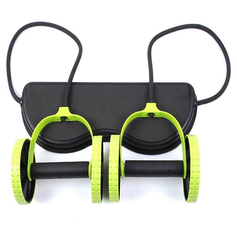 Double Wheel Abdominal Power Wheel Ab Roller Womens Accessories Mens Accessories