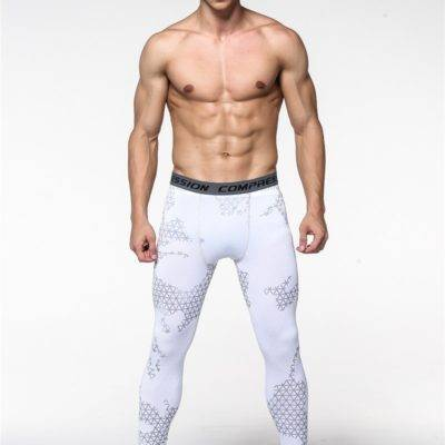 Compression Running Leggings for Men Mens Clothing Leggings