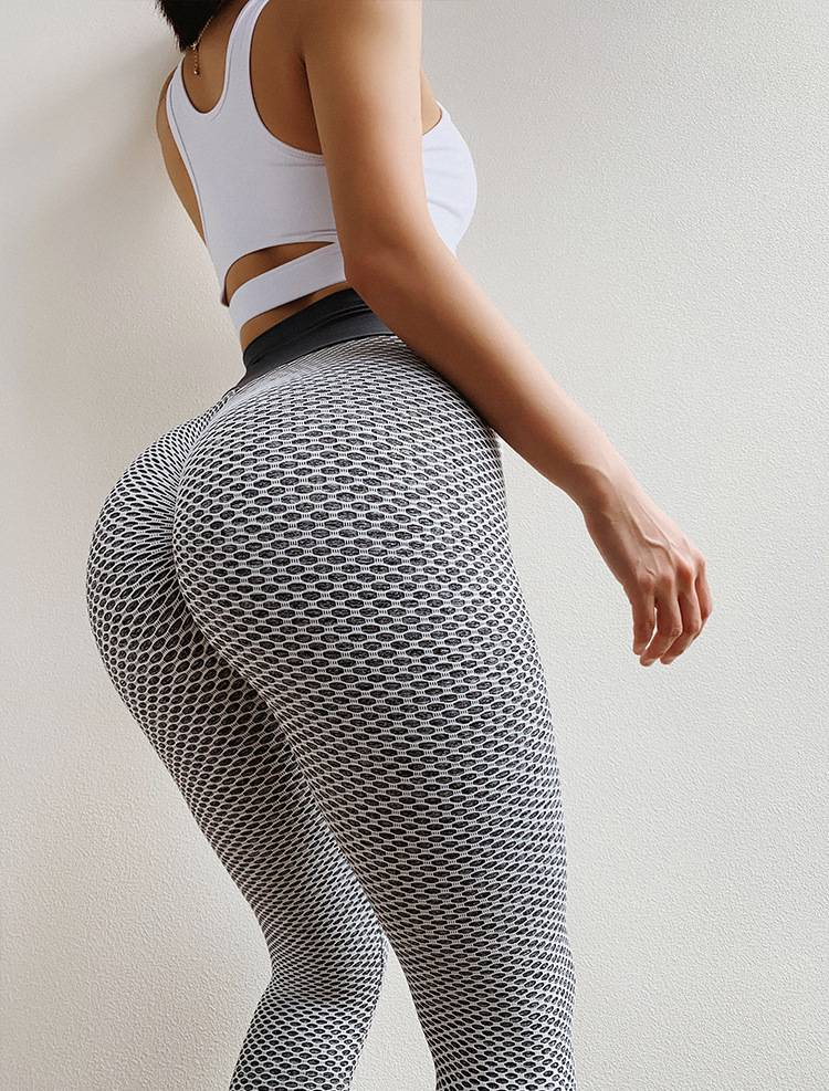 High Waist Dotted Leggings for Women Womens Clothing Leggings