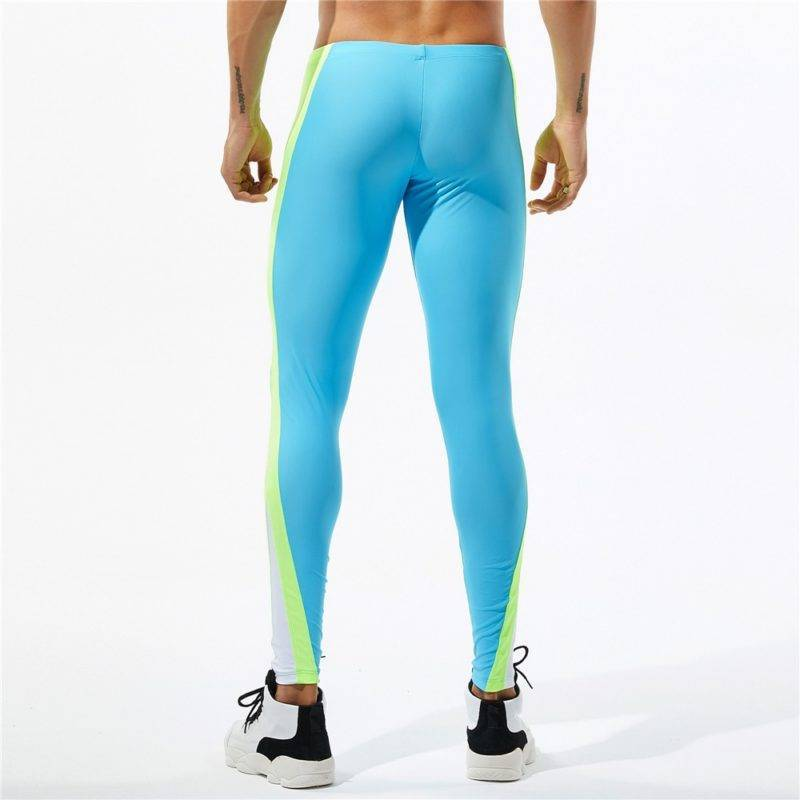 Athletic Bodybuilding Gym Leggings for Men Mens Clothing Leggings
