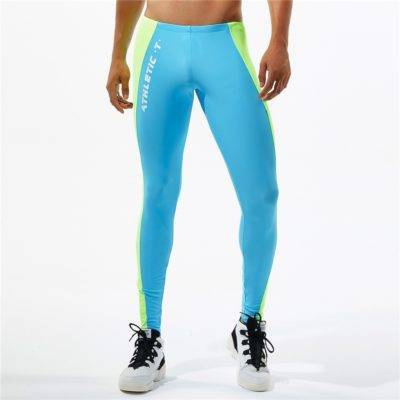 Athletic Bodybuilding Gym Leggings for Men Mens Clothing Leggings
