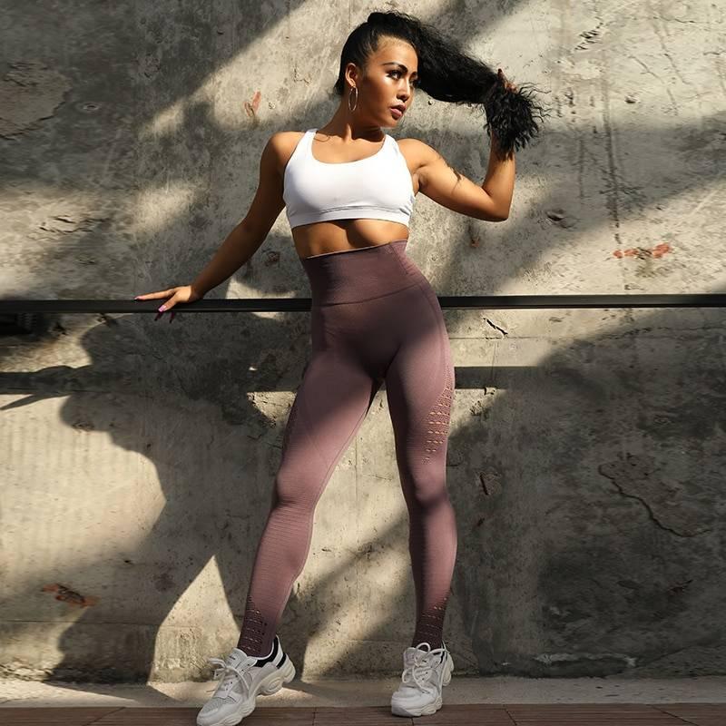High Waist Push-Up Leggings for Women Womens Clothing Leggings