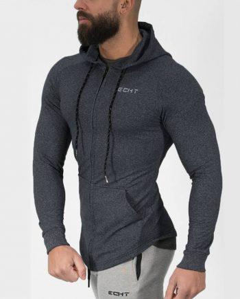 Casual Bodybuilding Hoodie for Men Mens Clothing Jackets & Hoodies