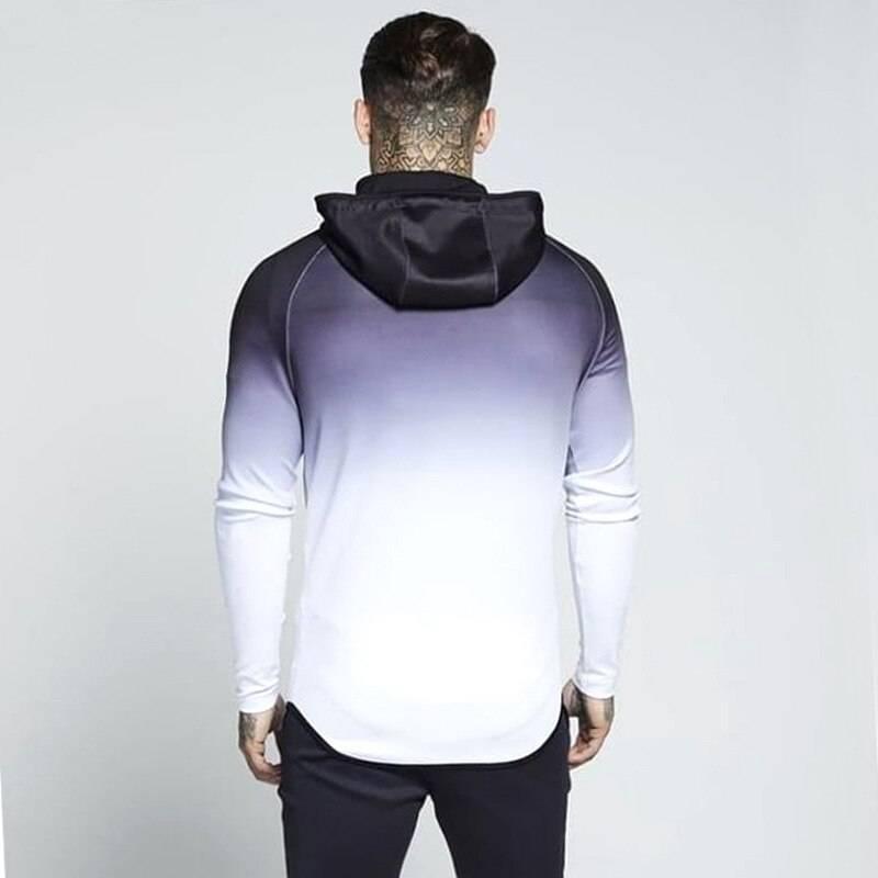 Gradient Hoodie for Men Mens Clothing Jackets & Hoodies