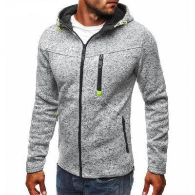 Solid Sports Hoodie for Men Mens Clothing Hoodies