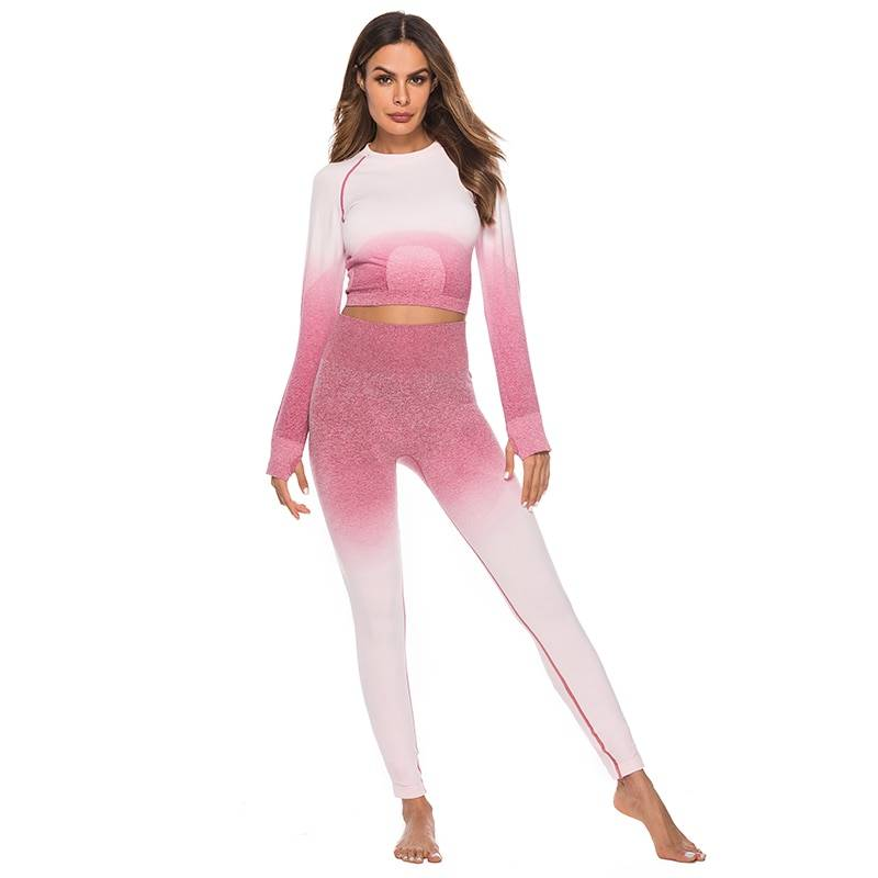 Fitness Tracksuit (Top and Leggings) for Women Womens Clothing Suits