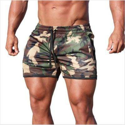 Casual Bodybuilding Shorts for Men Mens Clothing Pants