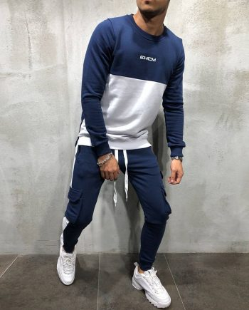 Casual Tracksuit for Men Mens Clothing Suits