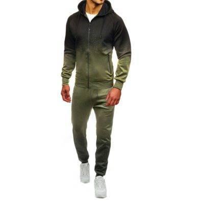 Gradient Tracksuit for Men Mens Clothing Suits