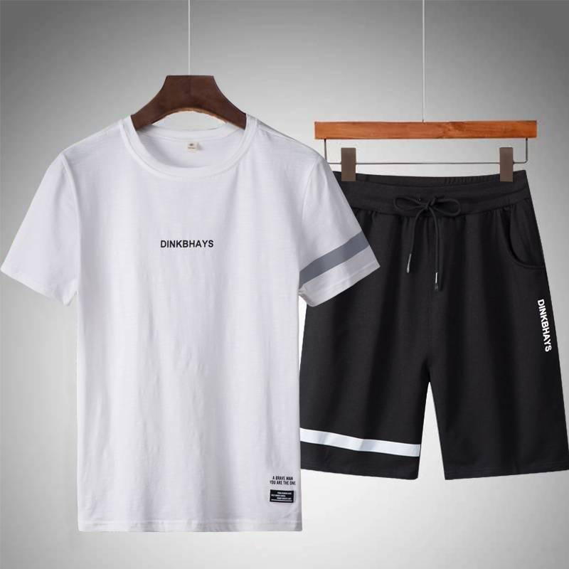 Summer Tracksuit for Men Mens Clothing Suits