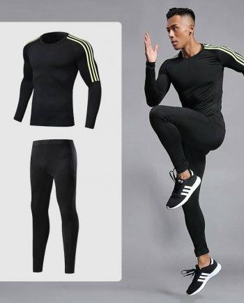 Sports Compression Set for Men Mens Clothing Suits