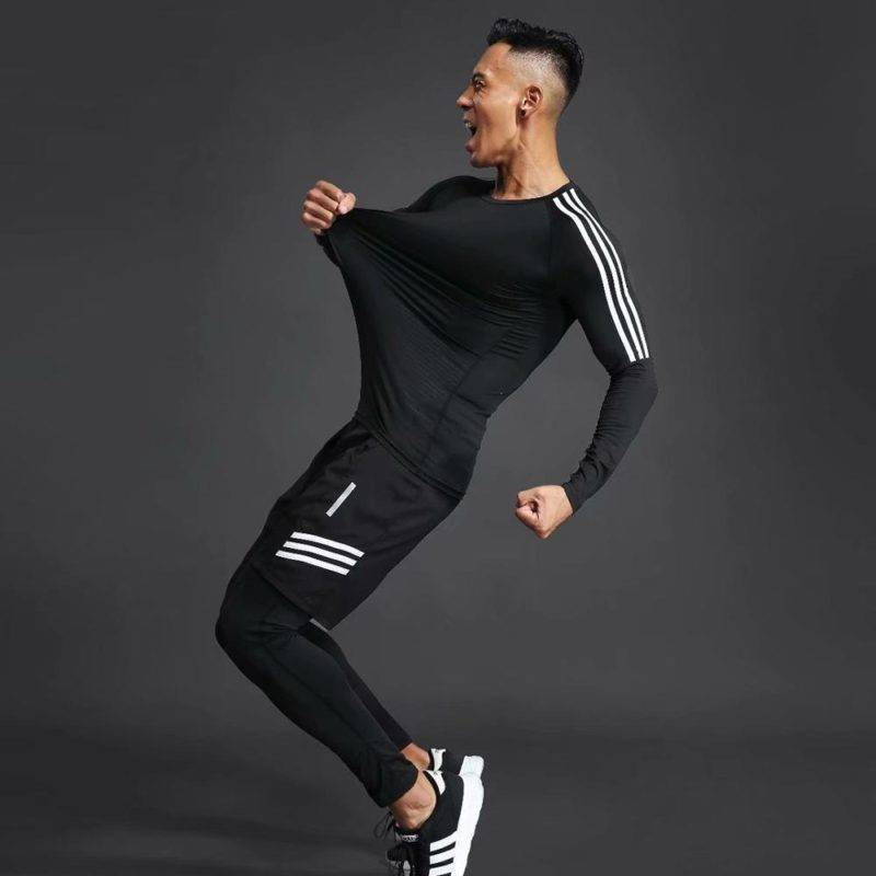 Sports Compression Set for Men Mens Clothing Suits