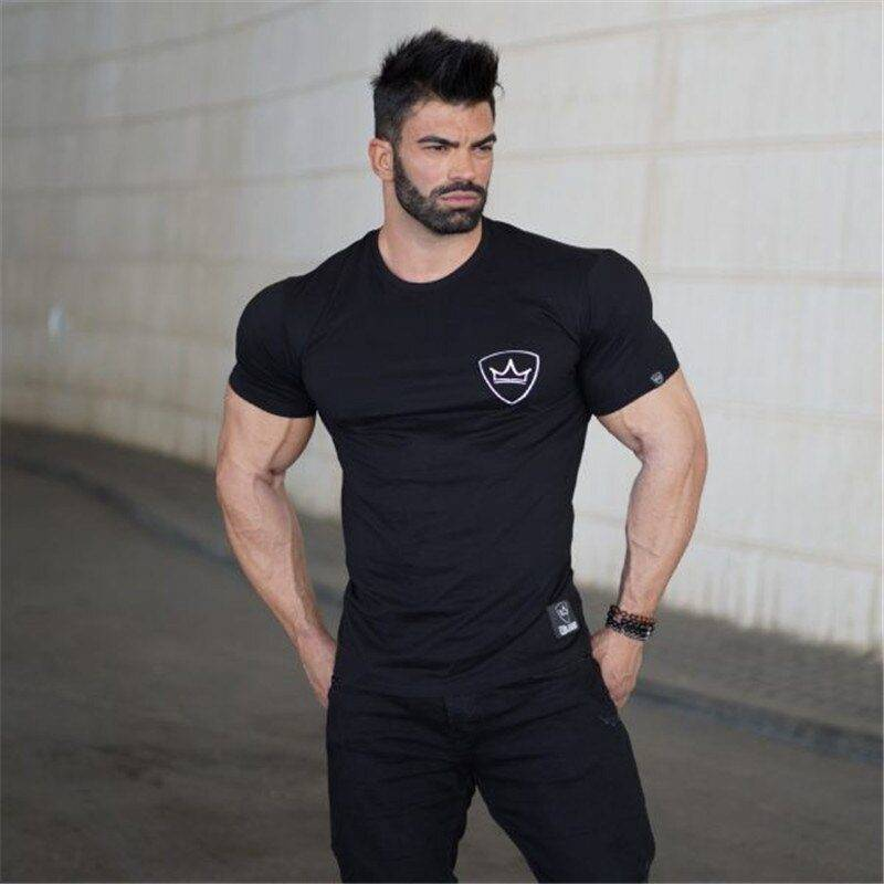 Gym T-Shirt for Men Mens Clothing Tops