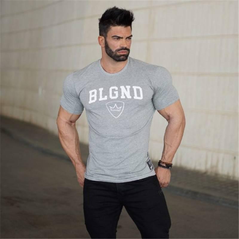 Gym T-Shirt for Men Mens Clothing Tops & T-shirts