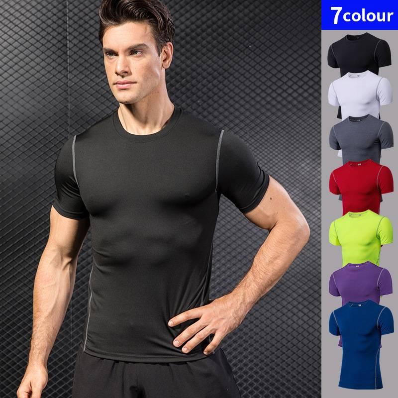 Compression Sport Shirt for Men Mens Clothing Tops & T-shirts