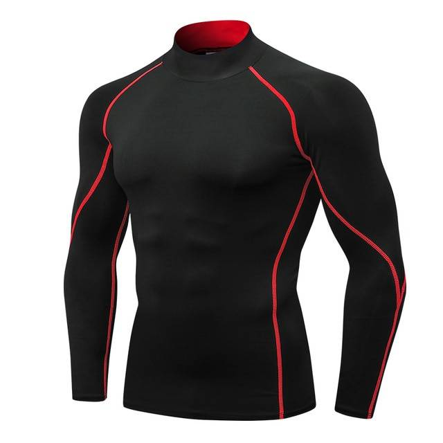 Compression Sport Shirt for Men Mens Clothing Tops & T-shirts