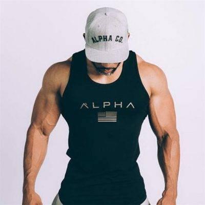 Alpha Tank Top for Men Mens Clothing Tops