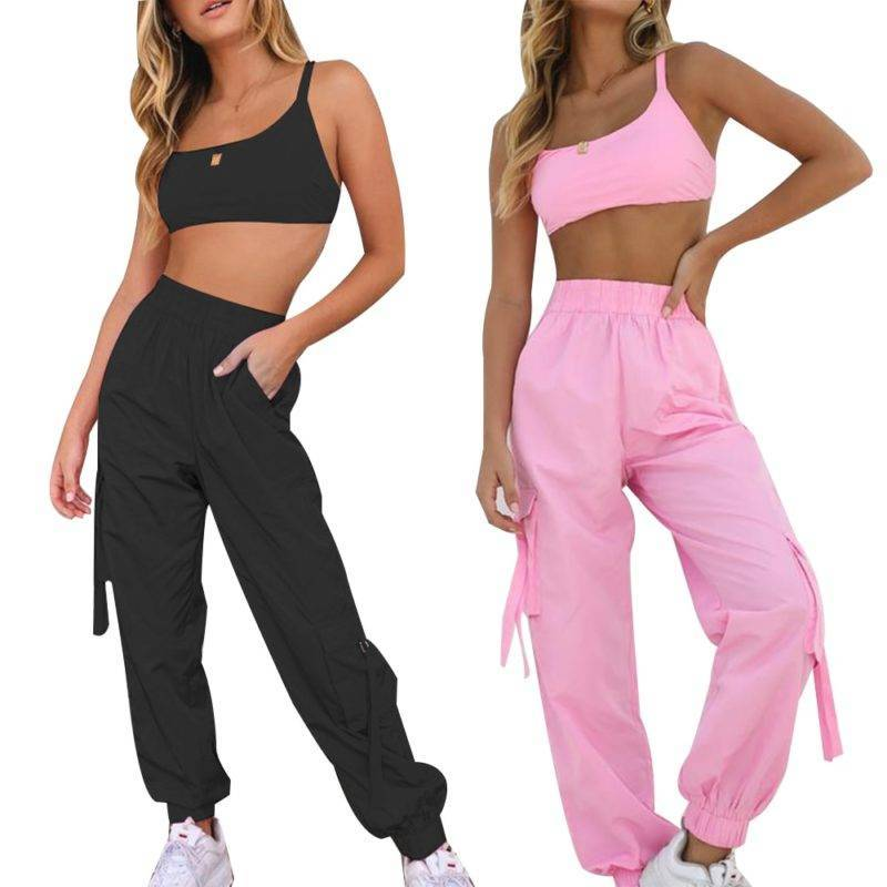 Loose Fitness Tracksuit for Women Womens Clothing Suits