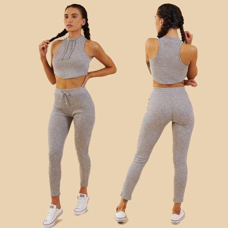Casual Tracksuit for Women Womens Clothing Suits