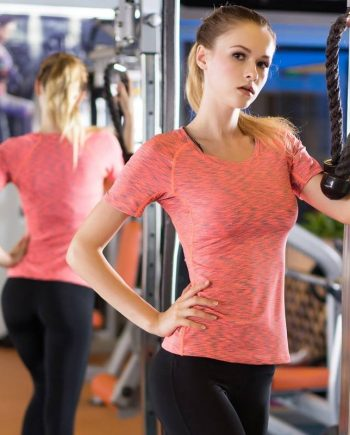 Gym Compression T-Shirt for Women Womens Clothing Tops & T-shirts