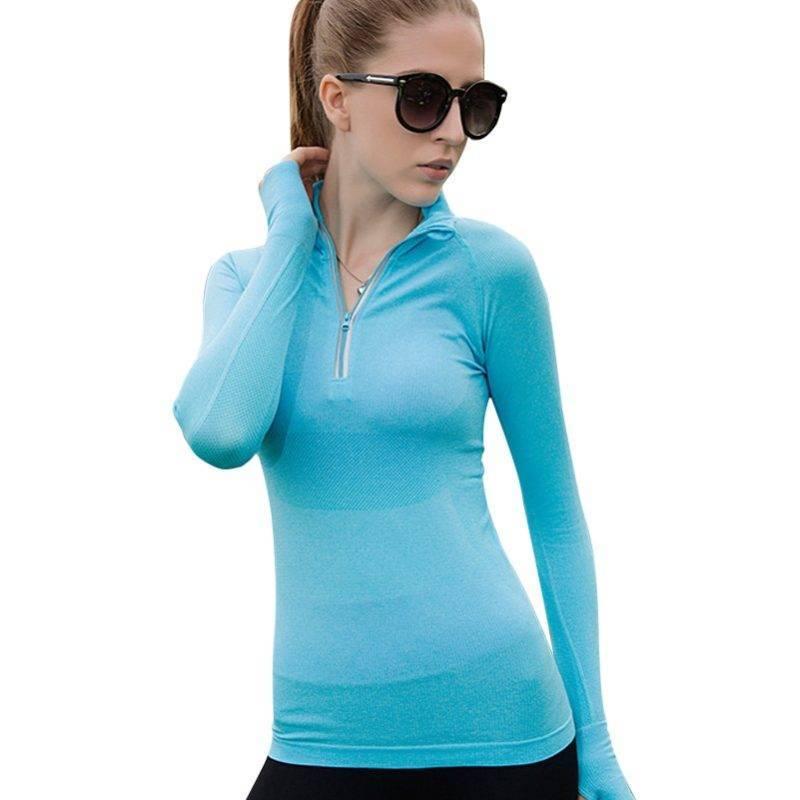 Long Sleeve Running Shirt for Women Womens Clothing Tops