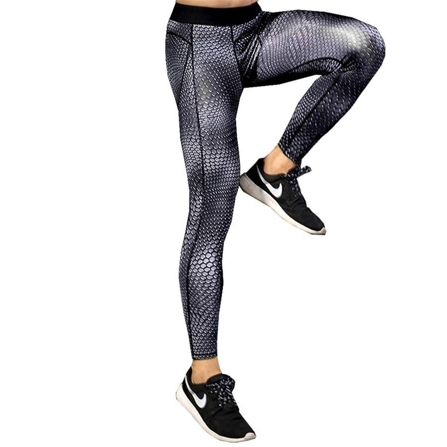 Elastic Compression Pants for Men Mens Clothing Leggings