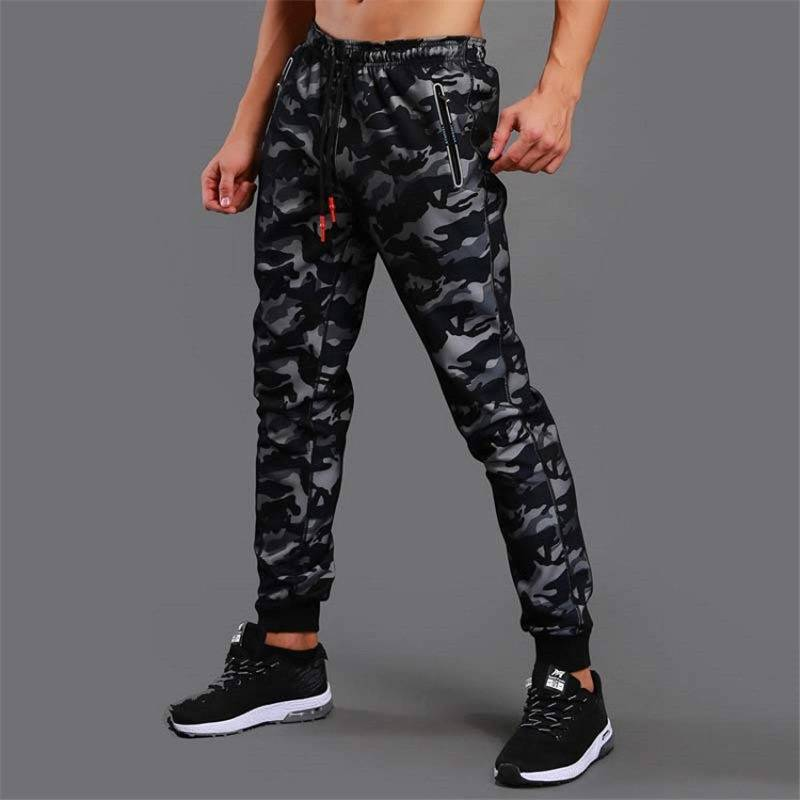 Camouflage Jogging Pants for Men Mens Clothing Pants