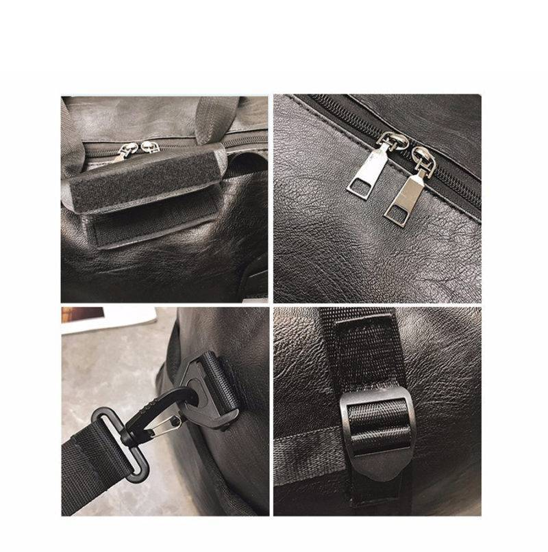 Leather Fitness Shoulder Bag for Men and Women Womens Bags Mens Bags