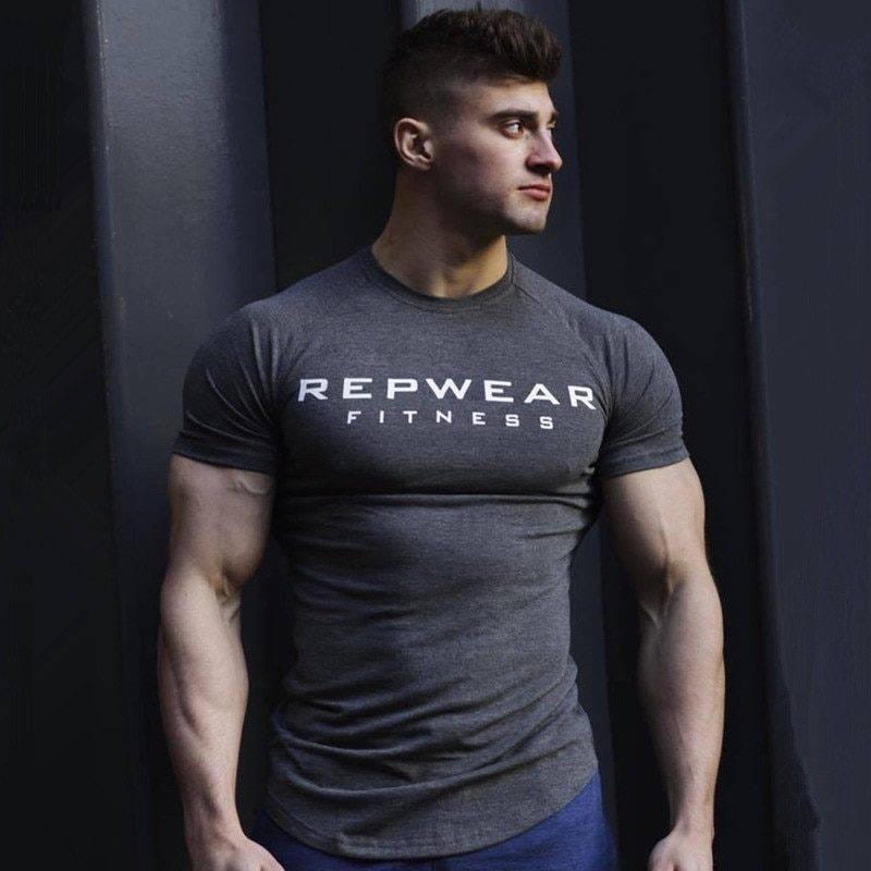 Repwear Sports T-shirt for Men Mens Clothing Tops & T-shirts