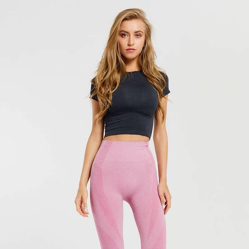 High Elastic Yoga Shirt for Women Womens Clothing Tops & T-shirts