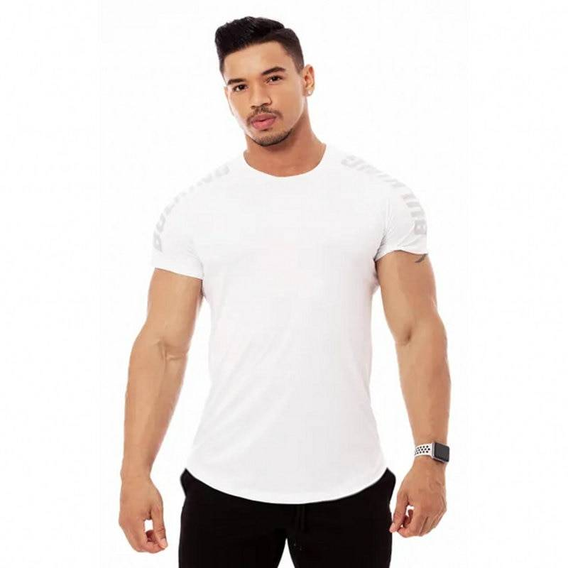 Training Compression T-shirt for Men Mens Clothing Tops & T-shirts