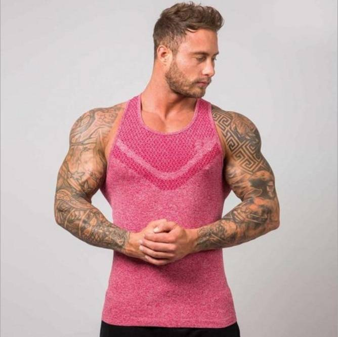 Stylish Bodybuilding Tank Top for Men Mens Clothing Tops & T-shirts