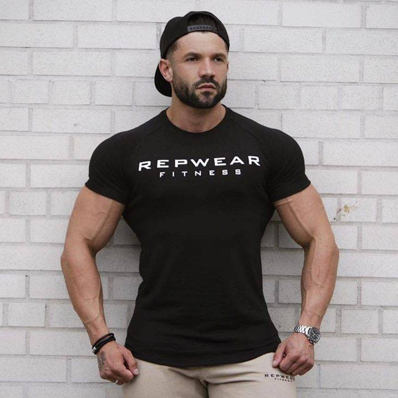Repwear Sports T-shirt for Men Mens Clothing Tops