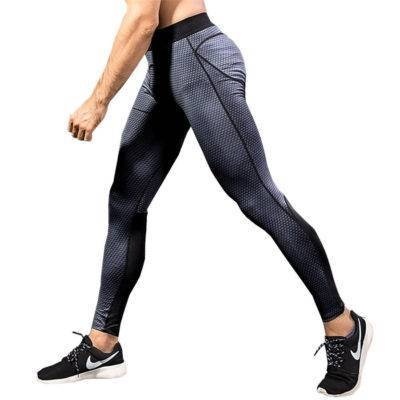 Elastic Compression Pants for Men Mens Clothing Leggings