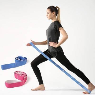 Elastic Stretch Exercise Resistance Band Womens Accessories Mens Accessories