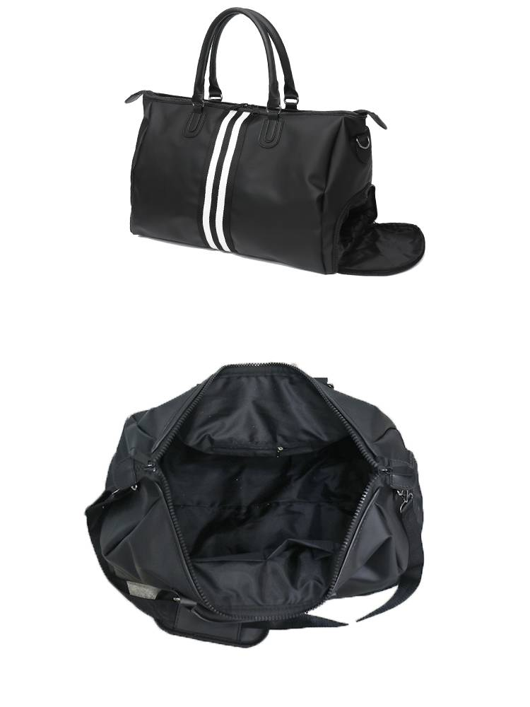Stirped Waterproof Gym Bag for Men and Women Womens Bags Mens Bags