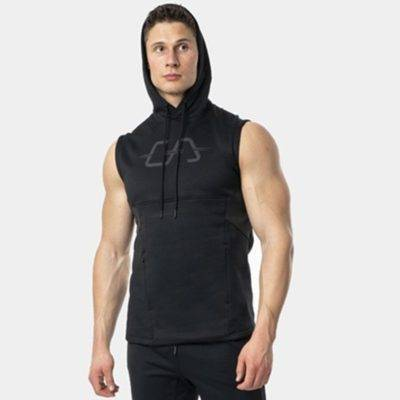 Sleeveless Gym Hoodie for Men Mens Clothing Hoodies