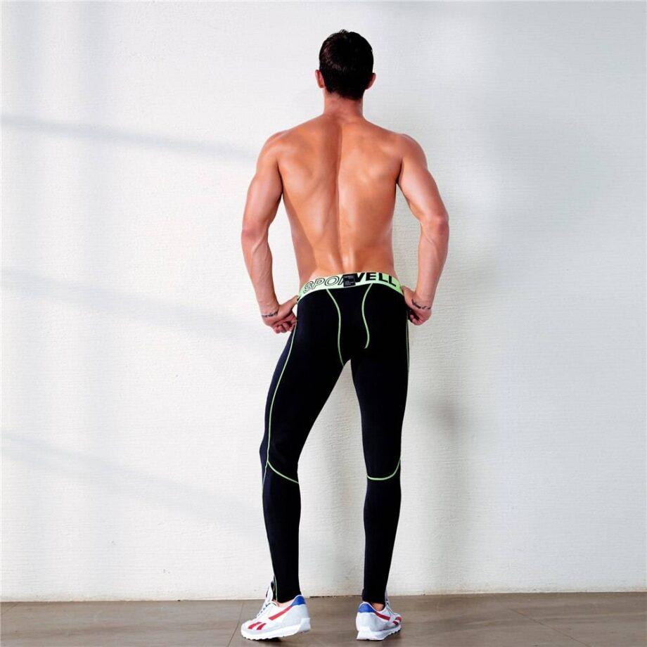 Compression Fitness Pants for Men Mens Clothing Leggings