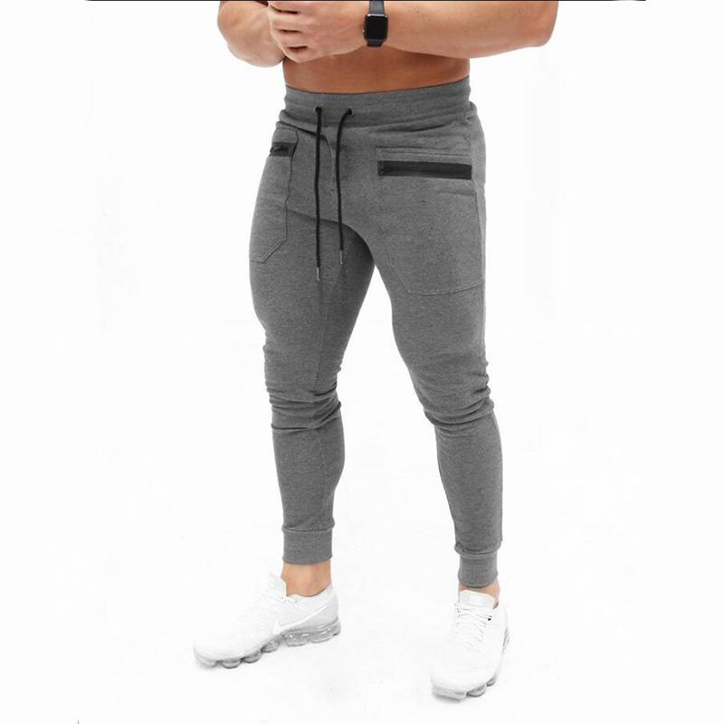 Casual Fitness and Sports Pants for Men Mens Clothing Pants