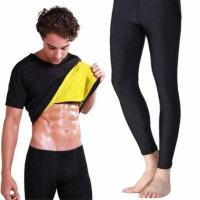 Sweat Absorbing Slimming Tracksuit for Men Mens Clothing Suits