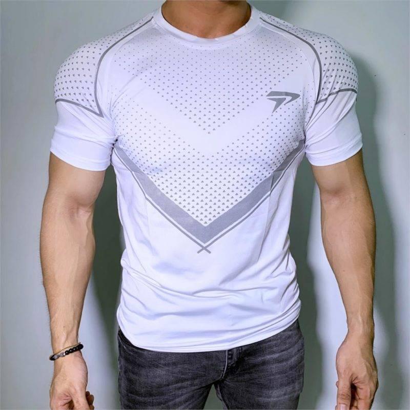 Compression Bodybuilding T-Shirt for Men Mens Clothing Tops & T-shirts