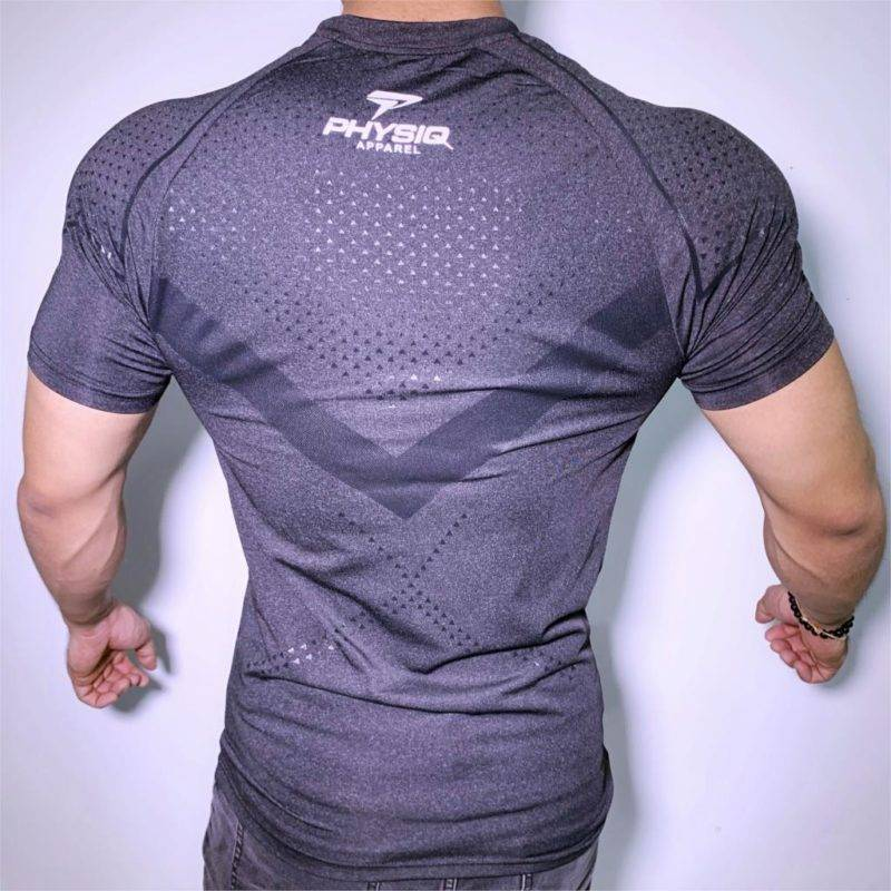 Compression Bodybuilding T-Shirt for Men Mens Clothing Tops