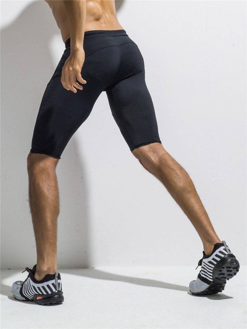 Short Leggings for Men Mens Clothing Leggings
